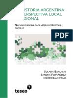 Historia Argentina en Perspectiva Local y Regional III