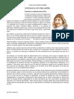 Dios y La Idea de Sustancia en Descartes_2019