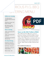 Full Catering Menu - PDF