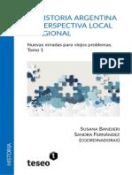Historia Argentina en Perspectiva Local y Regional I