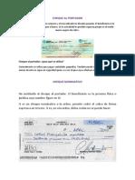 Copia de Tipos de Cheques