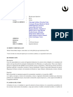 IN214 Mecanica Para Ingenieros 201901