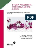 Historia Argentina en Perspectiva Local y Regional II