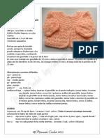 CR020 Canesu Redondo Simple a Medio Punto