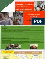 Clase III Mecanica de Rocas Geotecnia
