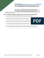 1.2.1.13 Lab - Investigación de Los Componentes de La PC