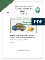 Organizacion y Metodos Trabajo 1
