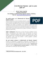 La Administracion de Recursos Humanos.doc