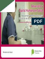 Desarrollo y Capital Humano Salud