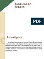 Desarrollo de La Inteligencia