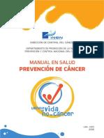 Manual de Prevencion de Cancer