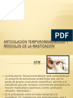 3 ATM y Músculos de La Masticación
