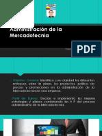 Administración de La Mercadotecnia Curso de Actualización