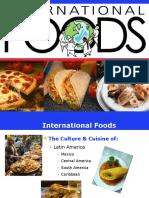 Internacional foods pdf