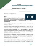 Modelo Ordenanza Que Incorpora Las Funciones Del Atm Al Rof