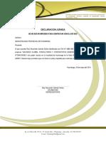 DECLARACION JURADA ORGINAL