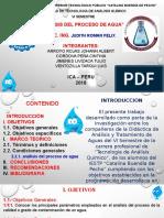 Analisis Del Proceso Del Agua