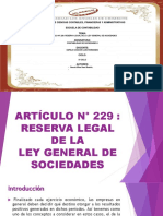 Expo de Sociedades Articulo 229 Reserva