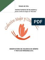 10. Los Derechos Humanos de Las Mujeres y La Violencia Contra La Mujer en Tlaxcala
