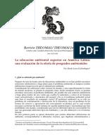analisi del dsicurso ambiental