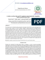 A Study on Carbon Stoks and Cosub2sub Uptake in Natural Pistachioamygdalusforest Research in Fars Iran