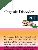 Organic Disorder