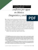 08 Los conflictos por el agua en México Análisis.pdf