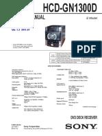 Sony Hcd-gn1300d Ver1.3 Sm