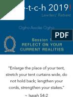 Leadership Retreat Exercises by Ogbo Awoke Ogbo