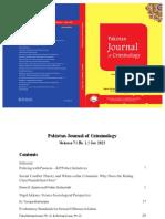 Pakistan Journal of Criminology 2015