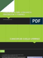 Cancer en El Perú