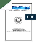 Programa Kerja Wali Kelas Www.gurugaleri.com
