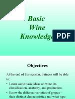 Basic Wine Knowledge