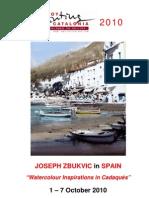 Joseph Zbukvic in Spain