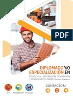 Especialización en Residencia, Supervisión, Liquidación y Seguridad en Obras (Teórico-Práctico)-01 de Diciembre Chiclayo