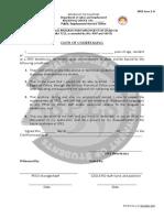 Spes Form 2-A -Oath of Undertaking.dec16.Final
