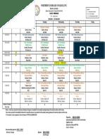 Teacher program example
