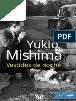 Vestidos de Noche - Yukio Mishima
