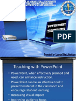 Powerpoint Presentation for ICT