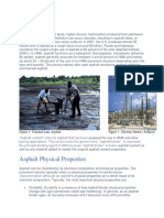 asphalt properties