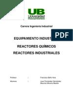 trabajo 9 - Reactores Quimicos e Industriales.docx