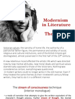 Modernism in Literature (2)