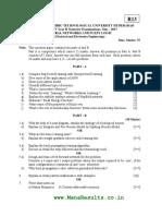 NNFL Question Paper