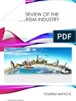 Overview of the Tourism Industry