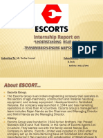 Ppt for Escort Company