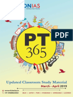 PT 365 Updated Classroom Material March April 2019