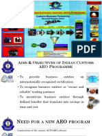 AEO Programme Presentation