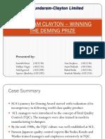 60138695 Sundaram Clayton Winning the Deming Prize