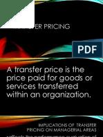 MAS Transfer pricing