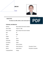 Resume Updated 2015